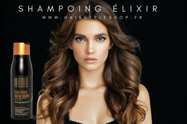 Shampoing élixir la beauté hair professionals