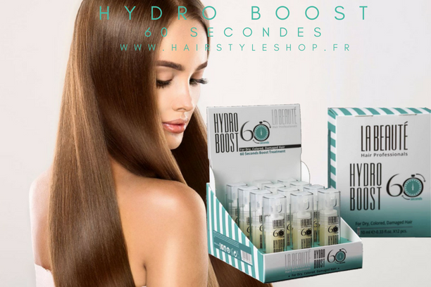 Hydro Boost 60 secondes La Beauté Hair Professionals